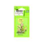 Crochet à tableau Luxe 22 mm par 10