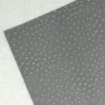 Papier Autruche simili Cuir 50 x 70 cm 230 g/m² - Noir