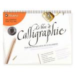 Bloc de papier Calligraphie avec Guides 90 g/m² 31,8 x 42 cm