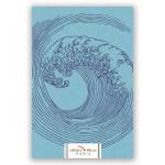 Carnet Artbook A5 14 x 21 cm 100 g/m² 240p Les vagues