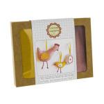 Feutrine mini kit poulette et poussin