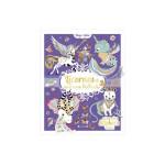 Livre de coloriage Licornes et animaux brillants