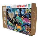 Puzzle en bois Nuit dans la Jungle 50 pièces
