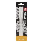 Stylo gel Gelly Roll Blanc 08 - 0.4 mm 2 pcs