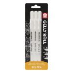 Stylo gel Gelly Roll Blanc 05 - 08 - 10