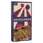 Jeu Backgammon en bois Vintage