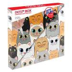 Broderie Diamant kit Dotz Box Enfant débutant Cat clan