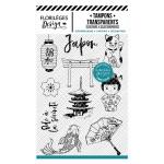 Set de tampons transparents Japon
